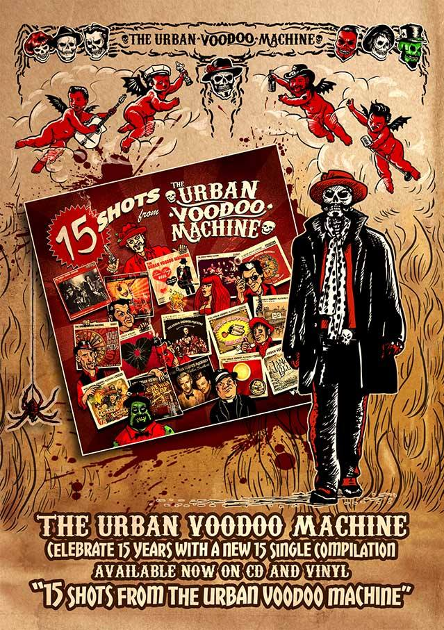 The Urban Voodoo Machine Profile Pic