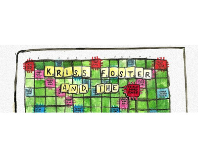 Kriss Foster and the Triple Word Scores Profile Pic
