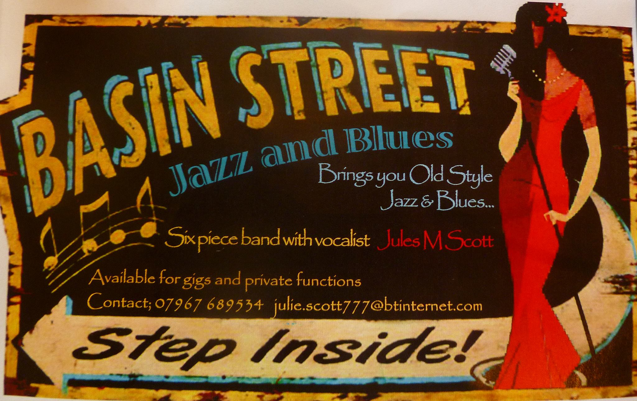Basin Street Jazz and Blues Band Profile Pic