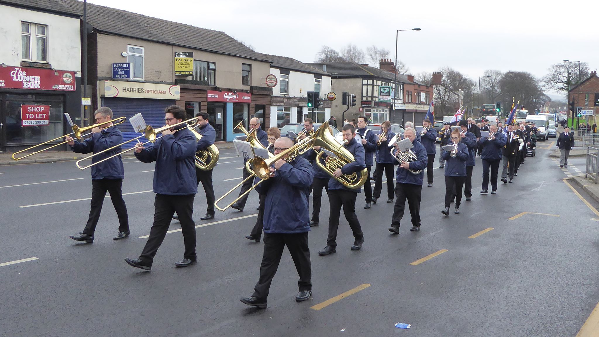 Hazel Grove Brass Band Profile Pic