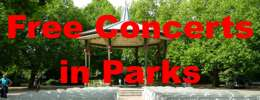 View Free Concerts in Parks