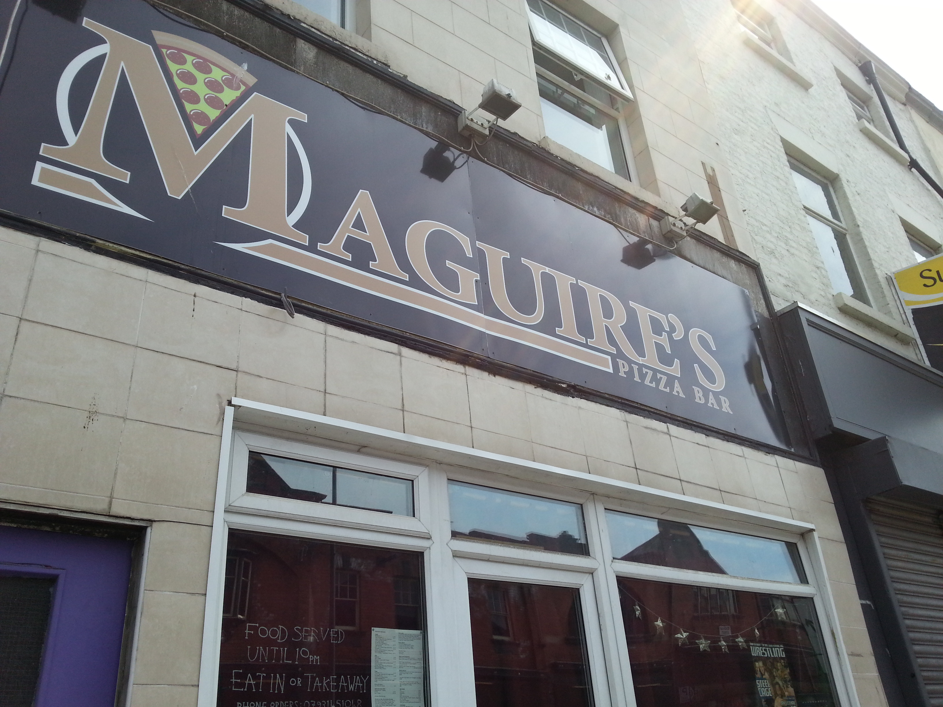 Maguire's Pizza Bar Profile Pic