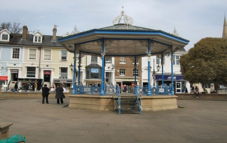 Horsham's Carfax Bandstand Profile Pic