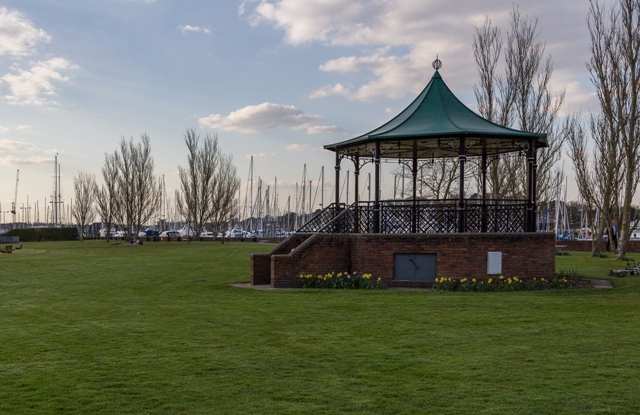 Lymington Bandstand Profile Pic