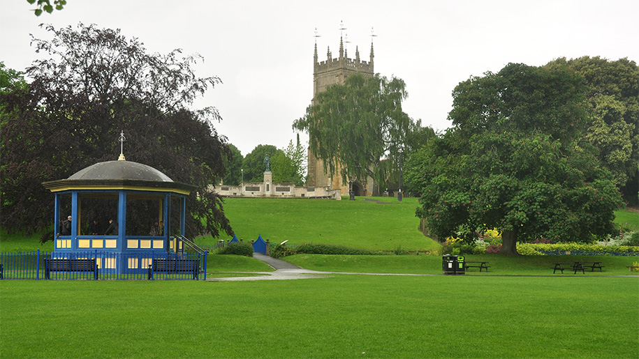 Evesham Bandstand Profile Pic