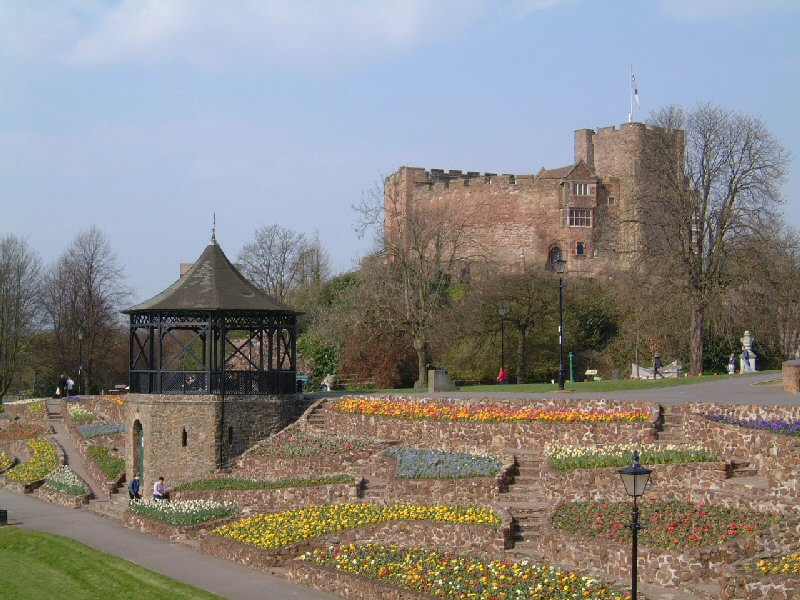 Tamworth Castle Grounds Bandstand Profile Pic