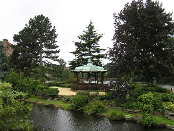 River Gardens Bandstand Profile Pic